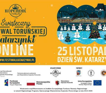 Świąteczny Festiwal Toruńskiej Katarzynki – online