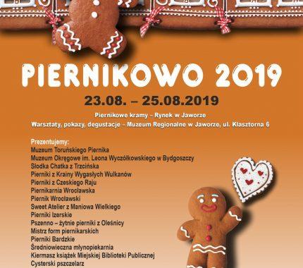 Święto Chleba i Piernika 2019 – zaproszenie