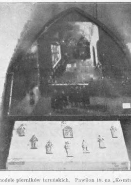 """Toruńskie pierniki na wystawie """"Komtur"""" w 1930 roku"""