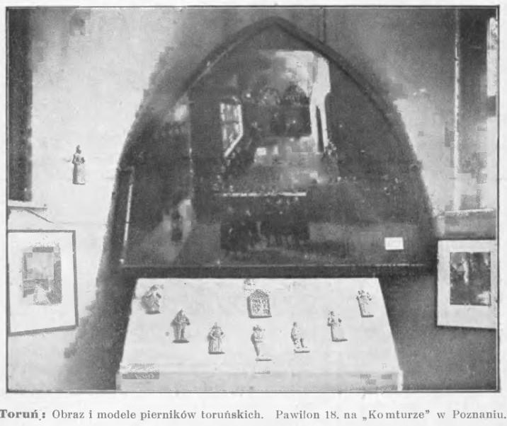 obrazek pokazujący cytowany fragment z toruńskimi piernikami