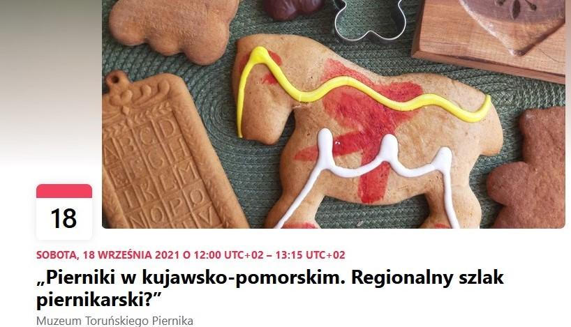 Zdjęcie wydarzenia na FB utworzonego na stronie Muzeum Okręgowego w Toruniu